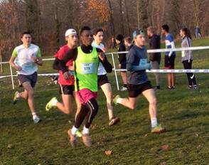 Cross académique UNSS : 15 lycéens de Bascan dans le parc de Sceaux