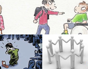 Le rôle du témoin dans une situation de harcèlement et l'inclusion des élèves handicapés à l'école
