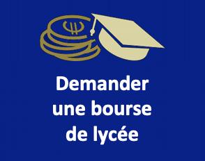 Bourses nationales des lycées 2021-2022