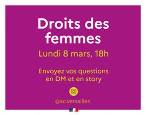 Le 8 mars : journée internationale des droits des femmes