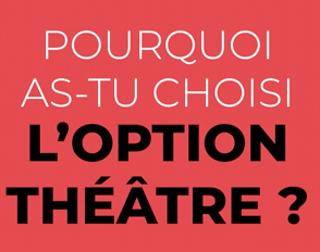 L'option Théâtre à Bascan