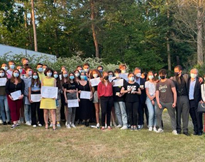 La fraternité des élèves de Bascan récompensée