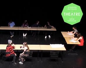 Restitutions 2021 des élèves en option et en enseignement de spécialité Théâtre
