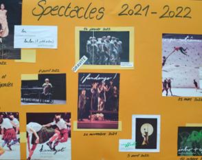 Option et Spécialité Danse : le programme des spectacles