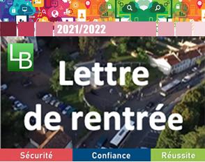 Lettre de rentrée du Proviseur pour l'année scolaire 2021-2022